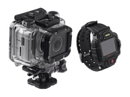 Monoprice MHD Sport 2.0 Wi-Fi Action Camera + Live View RF Wrist Remote