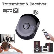 Avantree Saturn 2 en 1 Bluetooth sans fil émetteur / récepteur audio / Musique avec AptX pour un son de haute qualité, compatible iPhone, iPod, iPad,