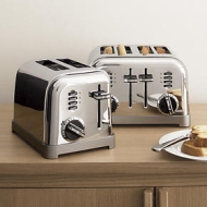CMT-400PBK 4-Slice Black Toaster