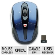 Gear Head Mpt3100blu Wireless Optical Mouse