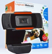 Real HD Webcam, Logicam HD webcam, High Definition webcam with Built-in microphone, Webcam with Good quality image, Webcam for great audio/video confe