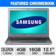 Samsung Chromebook XE550C22 12.1 LED Notebook - Intel Celeron 867 1.30 GHz - 1280 x 800 WXGA Display - 4 GB RAM - 16 GB SSD - Intel Graphics Media Acc