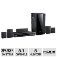Samsung 5.1 Channel Black DVD Home Theater System - HTE550ZA