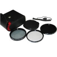 Bower 72 mm Digital Filter Kit, UV, CPL and ND Filter