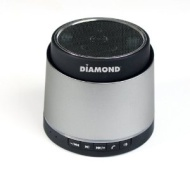 Diamond Multimedia Portable MiniRocker Bluetooth Speaker, Silver