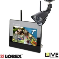 Lorex Live Sd Wireless Home Monitoring System With 7-inch Lcd Monitor & 1 Camera