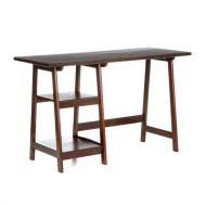 SEI Braxton Espresso Desk