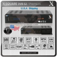 X2 Premium HD PVR FTA Satellite Receiver - Special Edition