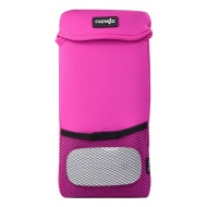 Cosmos Hot Pink Color Neoprene Carrying Protection Sleeve Case Cover for Apple Wireless Keyboard & Magic Mouse