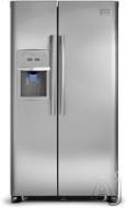 Frigidaire Freestanding Side-by-Side Refrigerator FPHS2387KF
