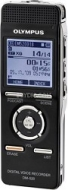 Olympus DM-520 - Digital voice recorder - flash 4 GB - WMA, MP3