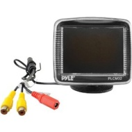 Pyle 3.5'' TFT LCD Monitor w/ Universal Mount Rear View & Backup Color CMD Dista