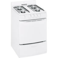 "Hotpoint 3 cu. ft. 24"" Gas Range White"