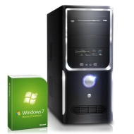 Powerful gaming PC! CSL Speed U10001H (Core i7) incl. Windows 7 - computer system with Intel Core i7-4770 4x 3400 MHz, 1000GB SATA, 16GB DDR3 RAM, MSI