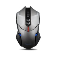 TeckNet High Precision Programmable Wireless Gaming Mouse With 2000 DPI, Nano Recdeiver, 5 Programmable Buttons, 5 User Profiles