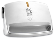 George Foreman 13621 Compact Grill and Melt - Silver, 3 Portion