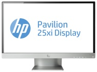 "HP 25"" flat screen LED monitor"