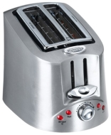 Hamilton Beach Eclectrics Toaster Sterling (22110)