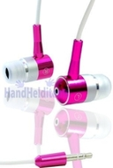 Metal Pink - HHI iSolator 3D Hi-Fi Earphone / Headphone