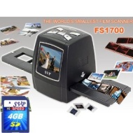 "SVP Digital Film Scanner w/ 2.4"" Build-in LCD (8GB Included), ~""World's Smallest Film Scanner""~"