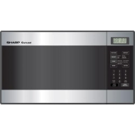 Sharp 0.8 Cu. Ft. 800 Watts Turntable Microwave, Stainless