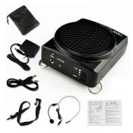 Aker MR1505 Voix Amplificateur Portable de ceinture 12watts noir pour les enseignants, entraîneurs, guides touristiques, des présentations, Costumes,