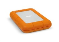 LaCie Rugged externe Festplatte 1TB (5400rpm, SATA III, USB 3.0) orange/grau