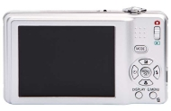Panasonic F3 12.1MP Compact Digital Camera - Silver