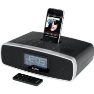 iHome iP90BZC Dual Alarm Clock Radio with iPhone/iPod Dock