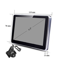 """SuperStore_Electronics(TM) 4.3"""" Touchscreen Car Sat Nav GPS 4GB with Multimedia Player Europe and UK maps"""