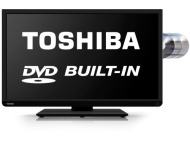 "Toshiba 40"" LED Full HD TV with Built in DVD Player"