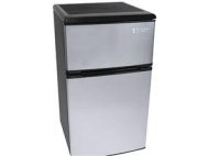 EdgeStar 3.2 Cu. Ft. Energy Star Rated Fridge / Freezer - Stainless Steel