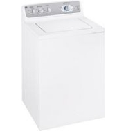 GE WJRE5500GWW 3.5 Cu. Ft. King-size Capacity Washer with Stainless Steel Basket
