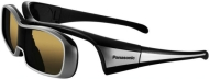 Panasonic TY EW3D10 - 3D glasses - active shutter