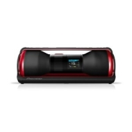 Pioneer STZD10Z-R Steez Type-Z Dancer Audio System for iPod/iPhone in Red
