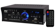 Pyle Home PCAU35A 2 x 75 Watts Mini Power Amplifier with LED Display