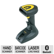 Wasp Barcode Technologies WWS Wireless Scanner with USB Base