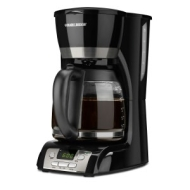 Black & Decker (Applica) 12cup Programmable Coffeemaker Black AP4 DCM2160B