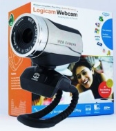 Logicam Chrome HD Webcam, Cool Webcam, Real High Definition Webcam by Logicam Webcam, 3.0 Mega Pixels, Excellent Video quality, Built-in M