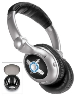 Sharper Image 10X Wireless Headphones with Class 1 Bluetooth (AA001)