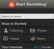 StumbleUpon (for iPhone)