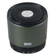 August MS425 Haut-Parleur Bluetooth Portable avec Microphone - Haut-Parleur Sans-Fil Puissant et Kit Main-Libre - Compatible avec iPhones, Samsung, Ga