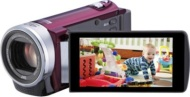 JVC Everio Full HD 40x Zoom WiFi Red Camcorder