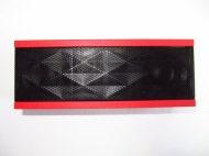 Jawbone - Jambox Wireless Bluetooth Speakerphone - Black/Red