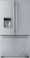 LG Freestanding Bottom Freezer Refrigerator LFX25950