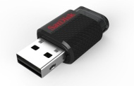 SanDisk Dual USB Drive works with mobiles devices and computers