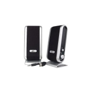 iMicro 2.0 Channel USB2.0 Multimedia Speaker System (Black)