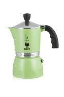 """Bialetti """"Fiammetta"""" Stove Top Espresso Maker, 3-cup (GREEN)"""