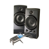 Insignia 2.1 Computer Speaker System NS-PCS40 w/ipod Dock