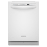 KUDS03FTBL Fully Integrated Dishwasher with 4 Cycl